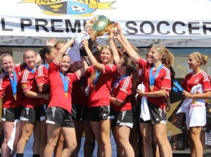 u15 girls davis champs